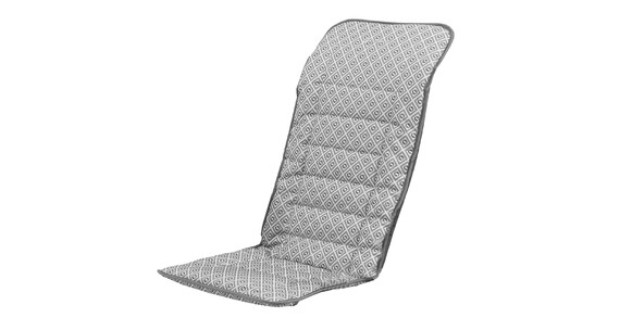 Cojín acolchado para silla camping Outwell L gris